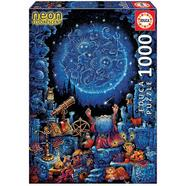 Puzzle O Astrólogo Neon 100 peças Educa