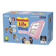 Consola Nintendo 2DS Rosa + TomoDachi Life (Pré-instalado)