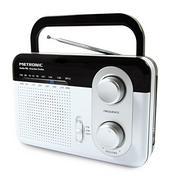 Rádio Portátil METRONIC 477220 Branco