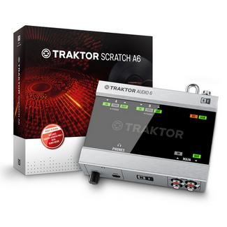 Interface NATIVE INSTRUMENTS Traktor Scratch A6