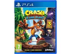 Jogo PS4 Crash Bandicoot N.Sane Trilogy (Bundle – M7)