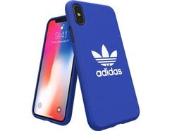 Capa ADIDAS Adicolor Moulded iPhone X Azul