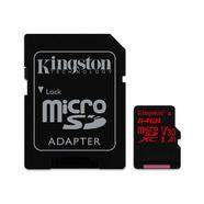 Kingston Canvas React 100R/80W U3 UHS-I microSDXC V30 A1 64GB + Adaptador SD