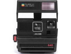 Máquina Fotográfica Instantânea POLAROID 600 Camera Square (Preto – 89 x 108 mm)