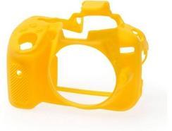 Capa de silicone EASYCOVER Nikon D5300 Amarelo