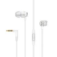 Auriculares com fio SENNHEISER CX 300 S (In Ear – Microfone – Atende Chamadas – Branco)