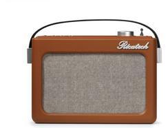 Rádio Despertador RICATECH PR78 (Castanho – Analógico – Função Snooze – Pilhas)