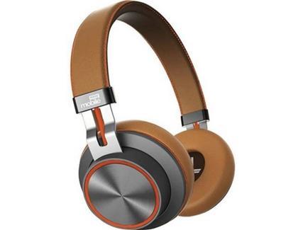 Auscultadores Bluetooth EASYMOBILE FREEDOM 2 (On-Ear – Microfone – Atende Chamadas – Castanho)
