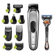 Aparador de barba Braun MGK7220 – Cinza prateado