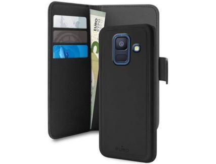 6466fe73b Capa PURO Wallet Samsung Galaxy A6 2018 Preto — Comparador ZWAME