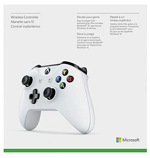 Microsoft Xbox One Slim White Wireless Controller