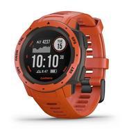 Relógio Desportivo GARMIN Instinct (Bluetooth – Vermelho)