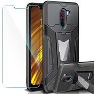Capa + Película AROYI para Xiaomi Pocophone F1 Case – Preto