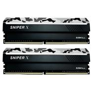 G.SKILL SNIPER X 16GB (2x8GB) DDR4-2666MHz CL19 Urban Camo