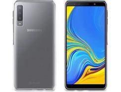 108bd663f Capa MUVIT Cristal Samsung Galaxy A7 2018 Transparente