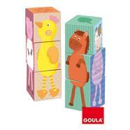 Diset: Cubos Puzzle Vertical 24 Peças Goula