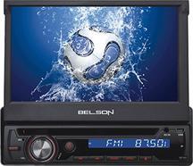 Autorrádio Multimédia BELSON BS-350 BT (Bluetooth mãos livres – 4x40W)