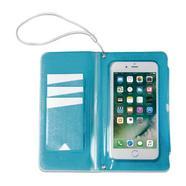 Capa Celly SplashWallet para Smartphones até 6 2 – Azul