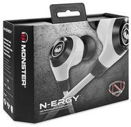 Auriculares com Fio MONSTER N-ERGY(In Ear – Microfone– Branco)
