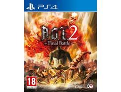 Jogo PS4 Attack of Titan 2 Final Battle (Ação – M18)