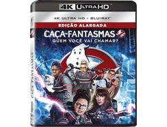 Blu-Ray 4K + Blu-Ray – Caça-Fantasmas