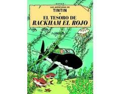 DVD Tintin, El Tesoro de Rackham El Rojo