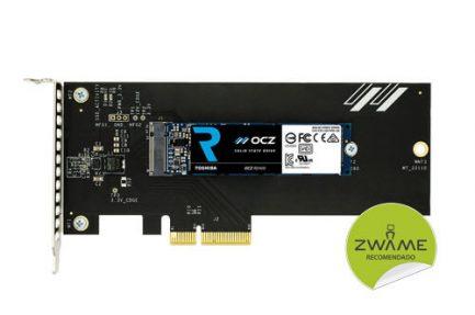 Toshiba OCZ RD400 256GB NVMe (c/ adaptador PCIe)