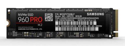 Samsung 960 PRO NVMe M.2 512GB