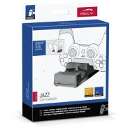 JAZZ USB CHARGER BLACK PS4