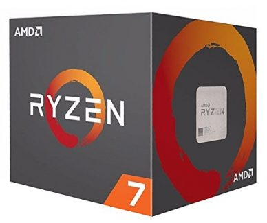 AMD Ryzen 7 1700X Octa-Core 3.4GHz c/ Turbo 3.8GHz