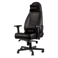 Cadeira noblechairs ICON Real Leather Gaming Preto