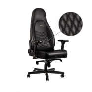 Cadeira noblechairs ICON Real Leather Gaming Cognac/Preto