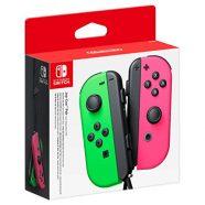 Nintendo Switch Conjunto Comandos Joy-Con Verde Néon & Rosa Néon