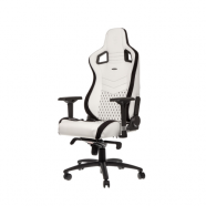 Cadeira noblechairs EPIC PU Leather Gaming Branco