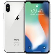 Apple iPhone X 64GB Prateado