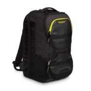 Targus Work + Play Fitness 15.6″ Laptop Backpack Black/Yellow