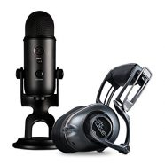 Bundle Microfone Blue Yeti + Auscultadores Blue Mo-Fi NiP Ul