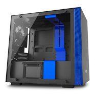 Caixa Mini-ITX NZXT H200i Preto / Azul