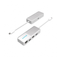 Travel Dock Sapphire USB-C 4-in-1