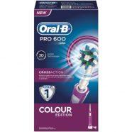 Escova de Dentes Eléctrica Oral-B Pro 600 CrossAction – Rosa