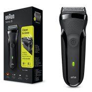 Máquina de Barbear Braun Série 3 300 BK