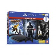 Consola Playstation 4 1TB + Ratchet and Clank + The Last of Us + Uncharted 4