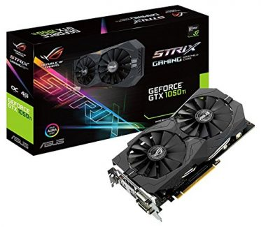 ASUS GTX 1050Ti Strix 4GB