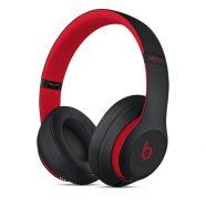 Beats Studio3 Wireless Over-Ear Headphones - Black/Red