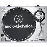 Gira-Discos Audio-Technica AT-LP120USBHC Prateado