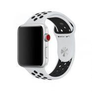 Bracelete Desportivo Apple Nike para Watch 42mm – Platina Pura | Preto