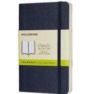 Bloco MOLESKINE Pocket Sapphire (Liso)