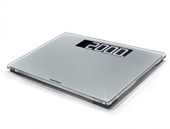 Soehnle Style Sense Comfort Electronic Bathroom Scale - 600 Scale, Silver