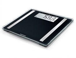 Soehnle Shape Sense Control Electronic Bathroom Scale - 100 Scale, Black