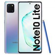 "Smartphone SAMSUNG Galaxy Note 10 Lite 6.7"" 6GB 128GB Prateado"